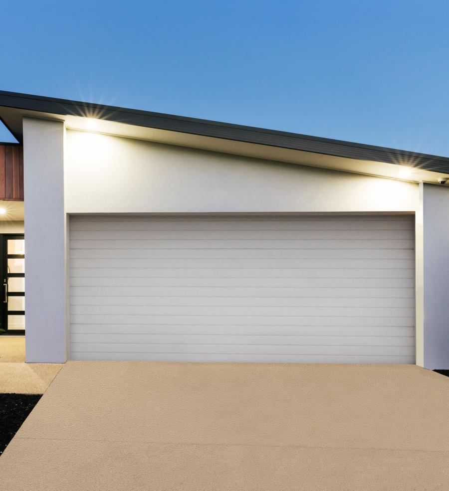 Porte de garage enroulement